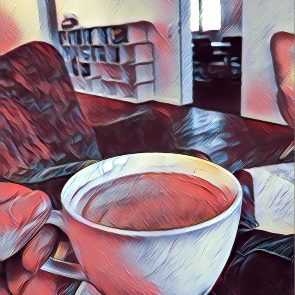 Der Kaffee ist ebenso inklusive wie der Tee und andere Getränke: einen Raum für einen Workshop für einen ganzen Tag haben wir heute im Lostopf.